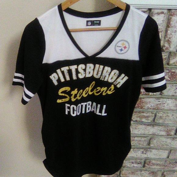 hot sale online 3845a 6529f NFL Pittsburgh Steelers women's shirt